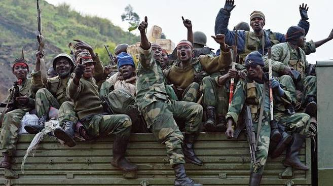 Soldiers of the army of the DR Congo. -AFP