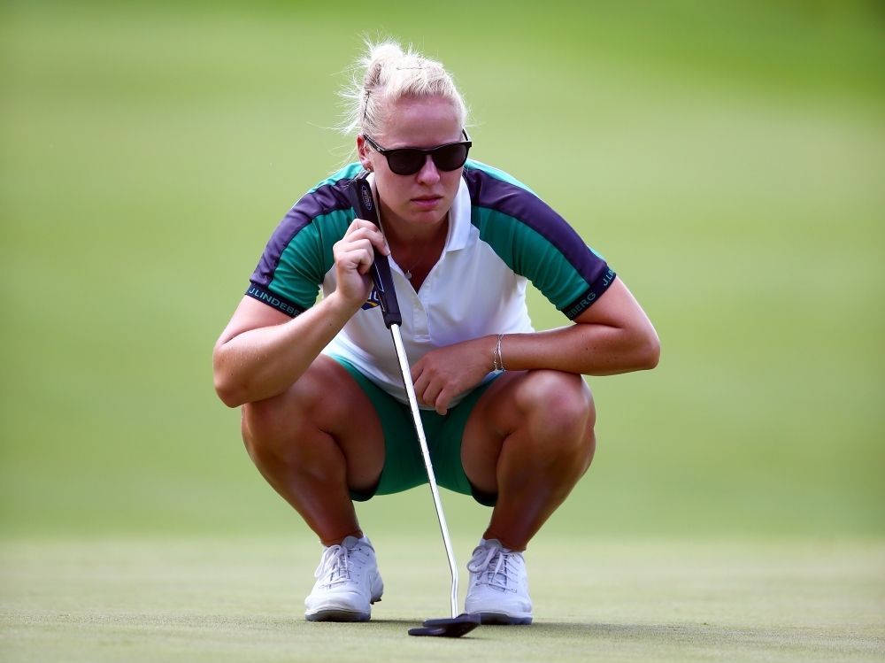 Ko, Broch Larsen tied atop CP Women's Open