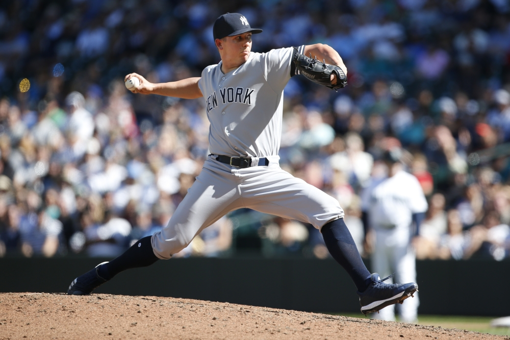 Yankees hit 4 more HRs, sweep Mariners with 7-3 win