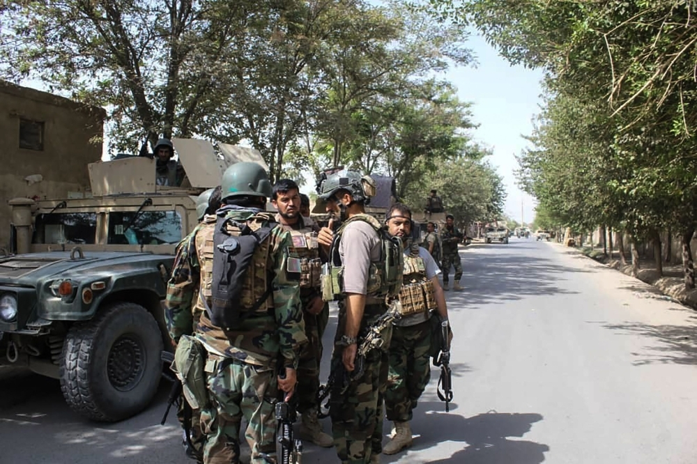 Afghan forces secure Kunduz as Taliban attack another city