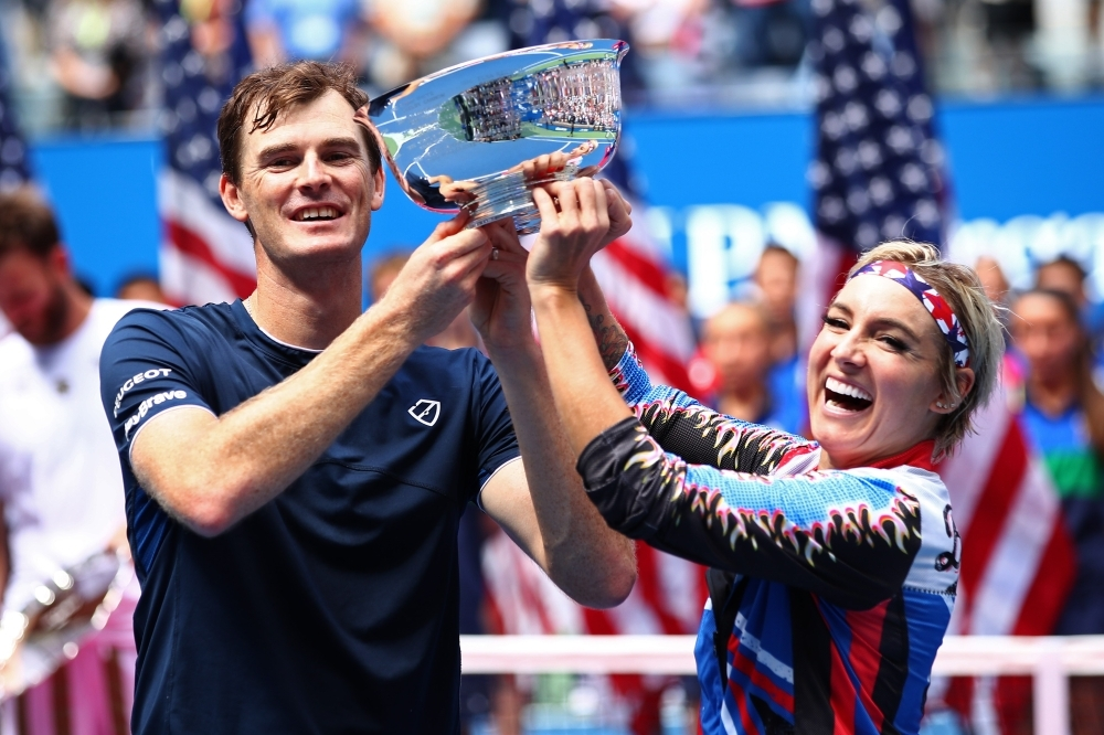 US Open 2019: Jamie Murray, Bethanie Mattek-Sands retain mix doubles title