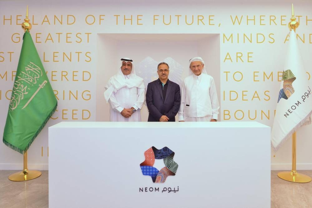 NEOM awards contracts for new village to national firms
