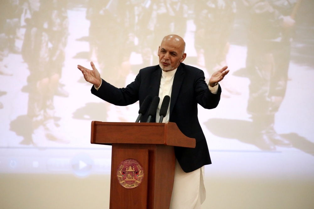 Afghan president renews calls for peace, demands cease-fire