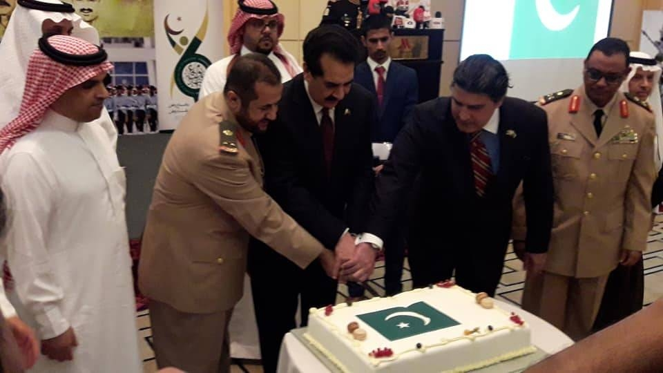 A ceremonial cake was cut on the occasion. — Courtesy photos