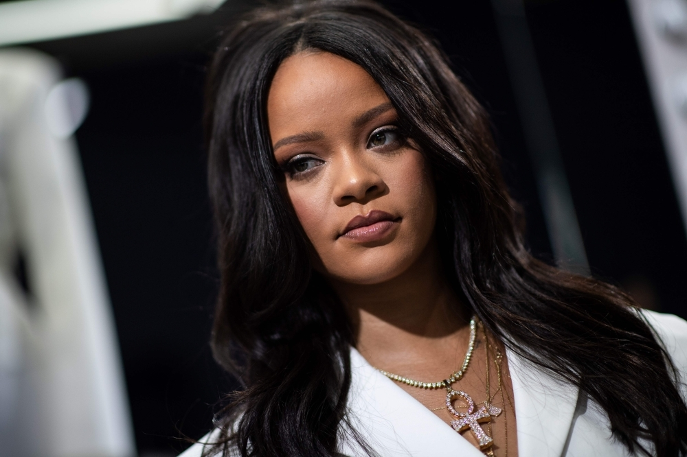 Barbados' singer Rihanna poses during a promotional event of her brand Fenty in Paris in this May 22, 2019 file photo. — AFP