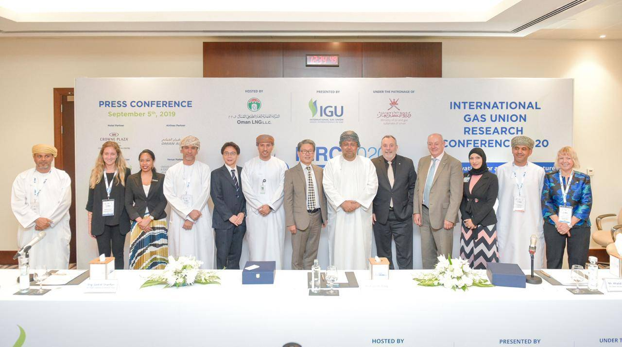 Oman to host 16th International Gas Union Research Conference