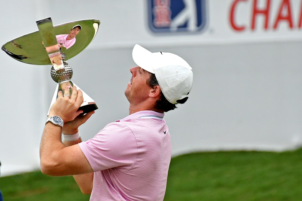 Rory McIlroy named PGA Tour Player of the Year
