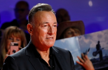Bruce Springsteen arrives for the world premiere of