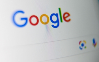 The US multinational technology and internet-related services company Google logo is displayed on a tablet screen, in Lille, northern France, in this Sept. 3, 2019 file photo. — AFP