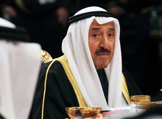 Kuwait's Emir Sheikh Sabah Al-Ahmad Al-Jaber Al-Sabah spoke with Custodian of the Two Holy Mosques King Salman to express support for the Kingdom following the attack.