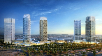 Artist's conception of The Avenue-Riyadh project