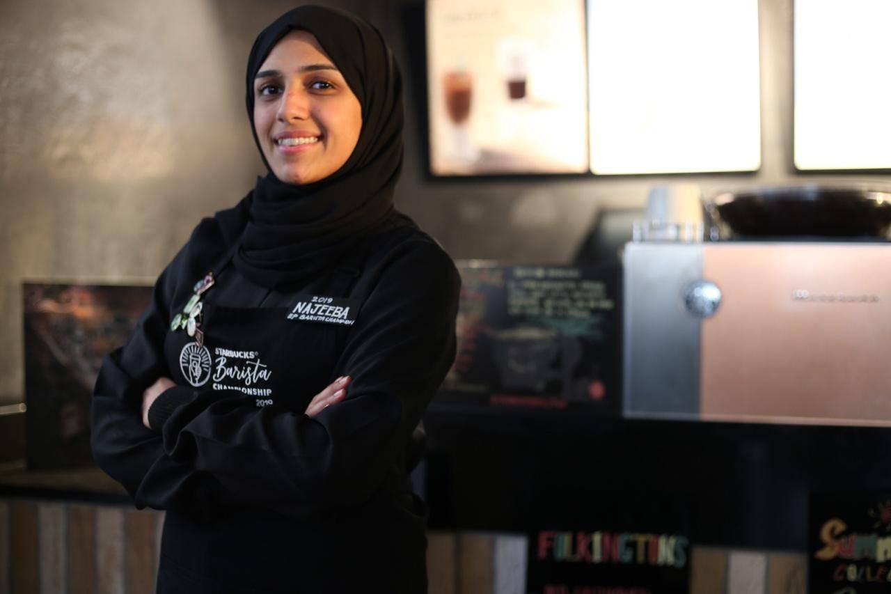 Najibah Al-Makki first Saudi woman voted to compete in EMEA Barista Championships