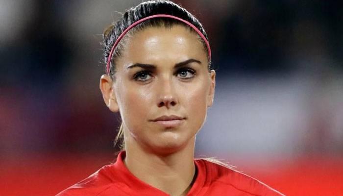 US women's soccer star Alex Morgan. — Courtesy photo