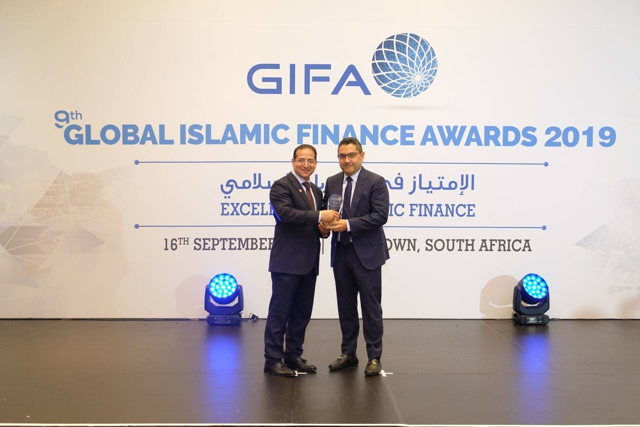 Humayon Dar, Founder and Chairman of GIFA & Houssam Chahin, UNHCR's Head of Private Sector Partnerships in MENA