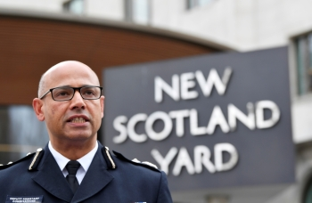 Neil Basu, the Metropolitan Police's Assistant Commissioner for Counter Terrorism outside New Scotland Yard in London, Britain, in this March 13, 2018 file photo. — Reuters
