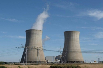 A file picture shows a nuclear power plant in Dampierre-en-Burly in central France. — AFP