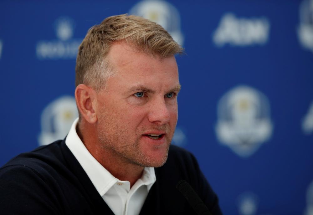 Harrington picks Karlsson as 1st vice captain for Ryder Cup