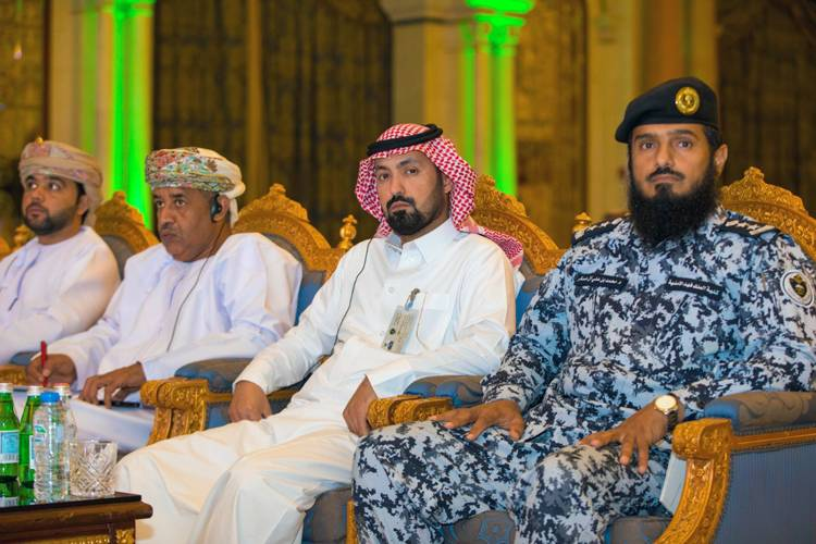 Specialists and dignitaries at a session in the Saudi International Oil Fire Safety Conference (OFSAC) 2019 in Riyadh.
