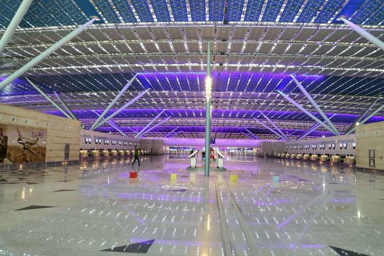 The new KAIA (Terminal 1) to be formally inaugurated.