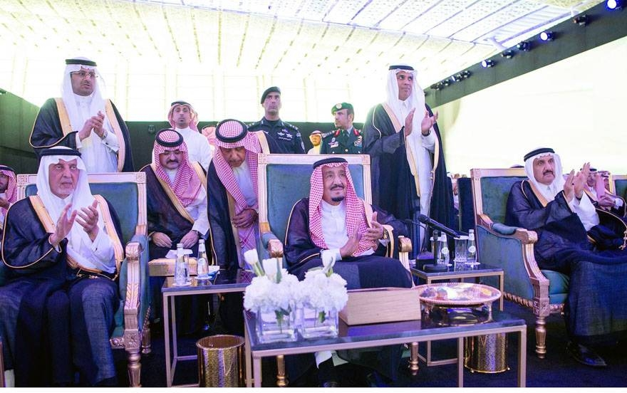 Custodian of the Two Holy Mosques King Salman inaugurated on Tuesday the new King Abdulaziz International Airport (Terminal 1) at a ceremony organized by the General Authority of Civil Aviation (GACA).
