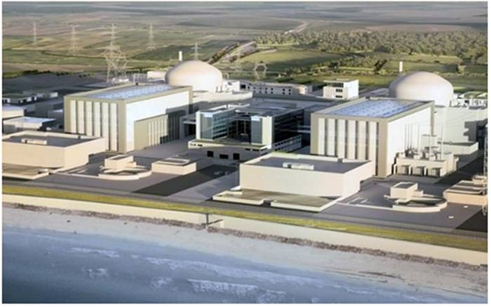 An artist's impression of how the new Hinkley Point plant will look.