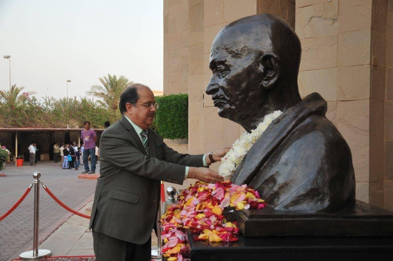 Indian Embassy celebrates 150th birth anniversary of Mahatma Gandhi