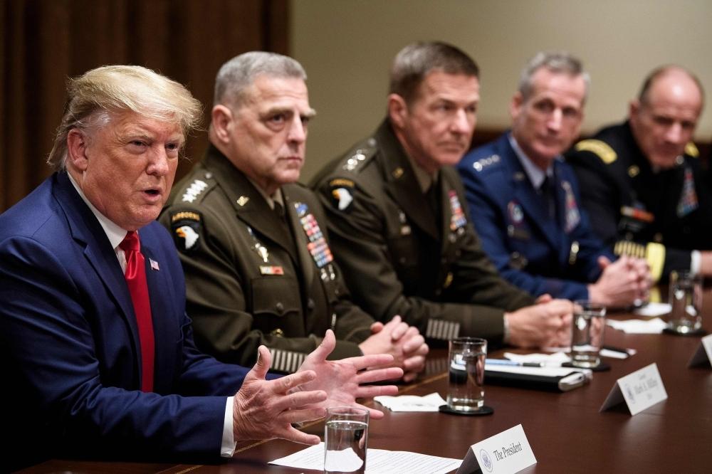 Трамп на выборах выложил «генеральского туза»