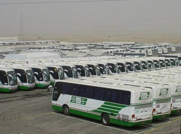 During the preceding Umrah season, buses carried about 67 million worshipers to the Grand Mosque in Makkah from various parking lots. — Courtesy photo