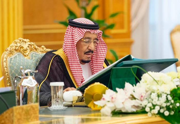 Custodian of the Two Holy Mosques King Salman chaired the weekly session of the Cabinet at Al-Yamamah Palace in Riyadh. — SPA