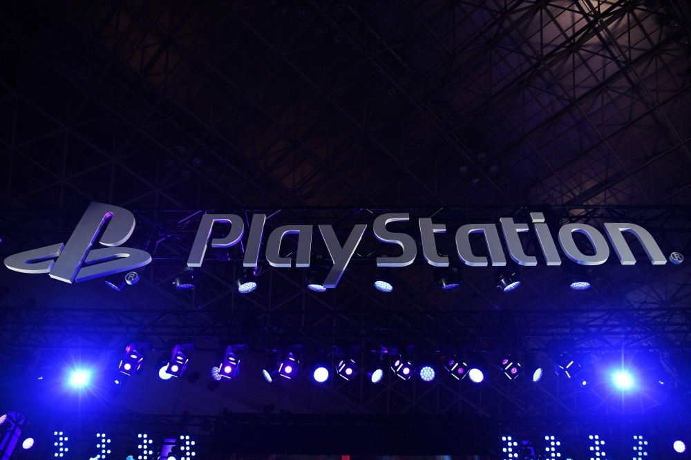 The Sony Playstation logo is seen during the Tokyo Game Show in Makuhari, Chiba Prefecture, in this Sept. 12, 2019 file photo. — AFP