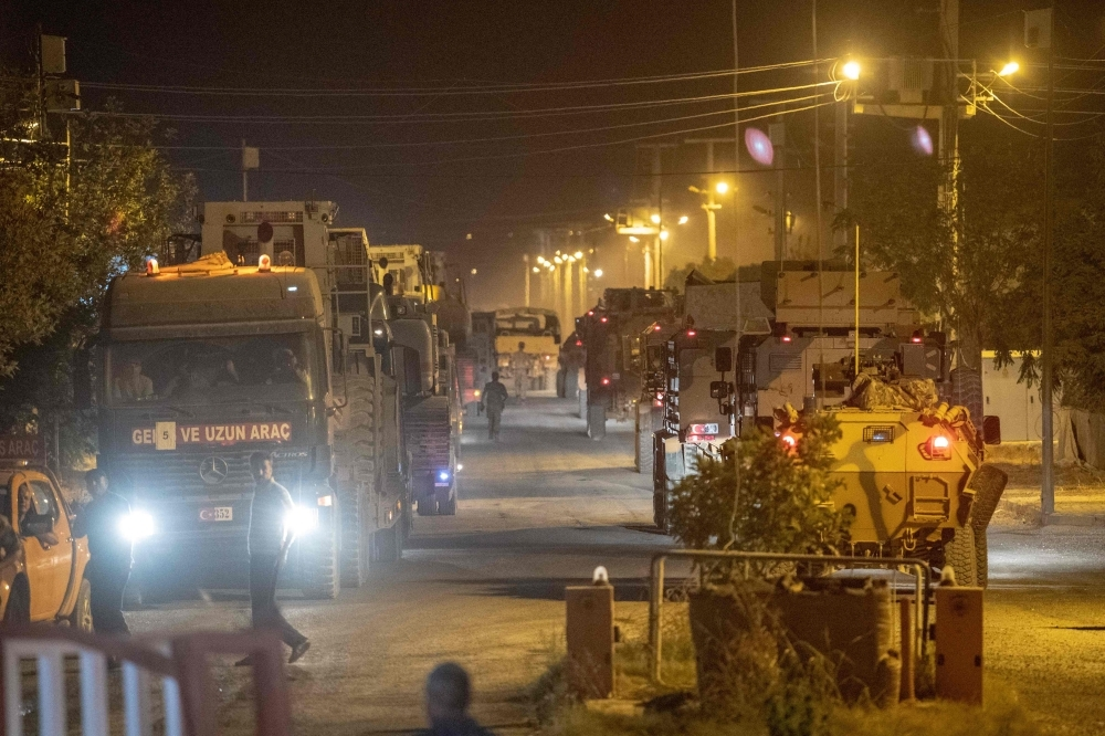 Turkey invades Syria in 'Peace Spring' land offensive against Kurdish militia