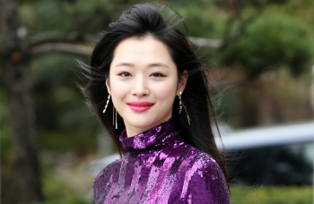 A member of the South Korean girl group f(x) Choi Jin-ri, also known by her stage name Sulli, is seen in this photo obtained on Wednesday. — Reuters