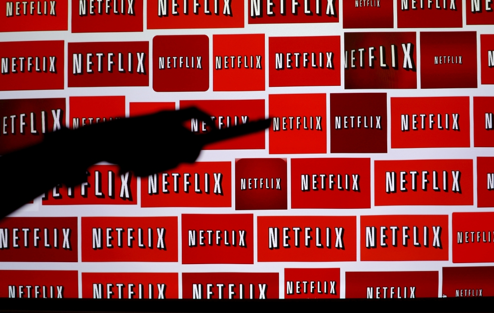 The Netflix logo is shown in this illustration photograph in Encinitas, California, in this Oct. 14, 2014 file photo. — Reuters