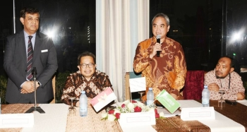 The Tourism Ministry of Indonesia in collaboration with the Indonesian Consulate General Jeddah hosted a gathering at the Mövenpick Hotel here to promote Indonesia as a tourist destination. — Courtesy photo