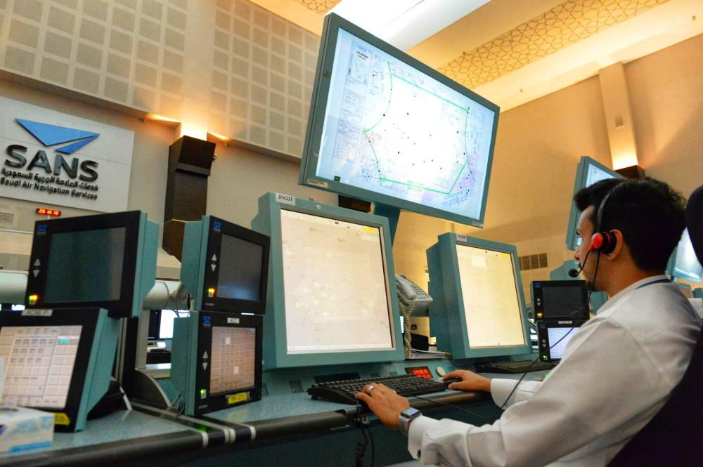 High concentration and quick speed of intuitive decision-making in a matter of minutes are of the most important skills of the air traffic controller. — Courtesy photo