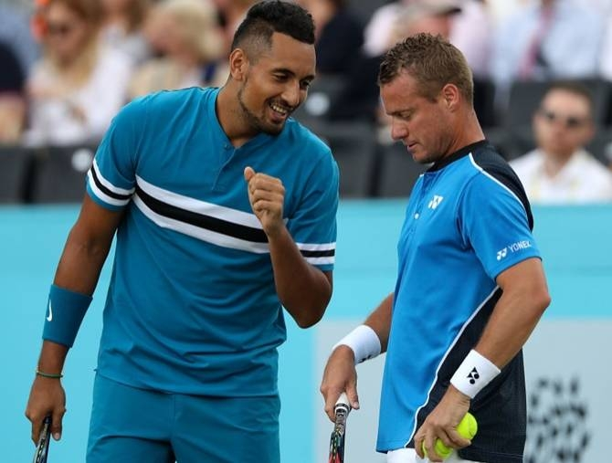 Nick Kyrgios named by Australia for Davis Cup finals