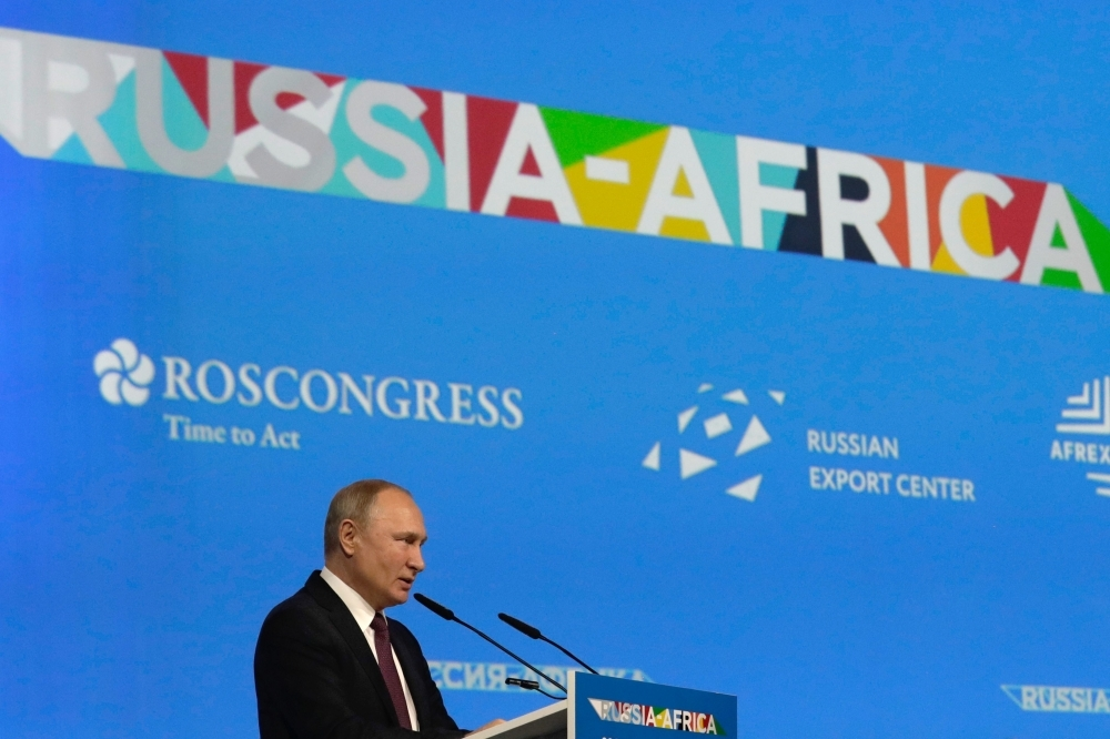 Vladmir Putin opens first ever Russia-Africa Summit