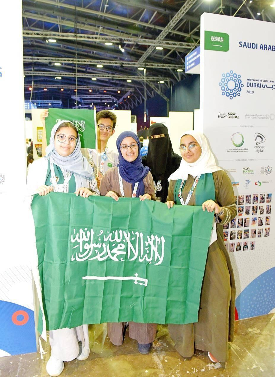 Team Saudi Arabia showcases broad  scientific plans for  pollution-free world