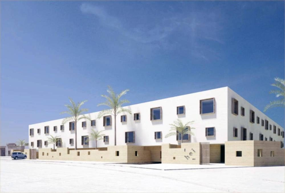 HEI Schools Riyadh to open in September 2020. Image and Architectural planning by Finnish company Collaboratorio.