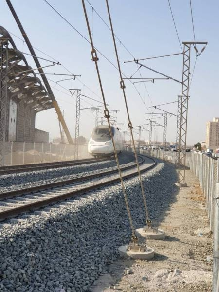 The crew to drive the train, the navigators and the workers at the railway stations are all qualified Saudi cadres who have been trained according to the highest international standards. — Courtesy photo