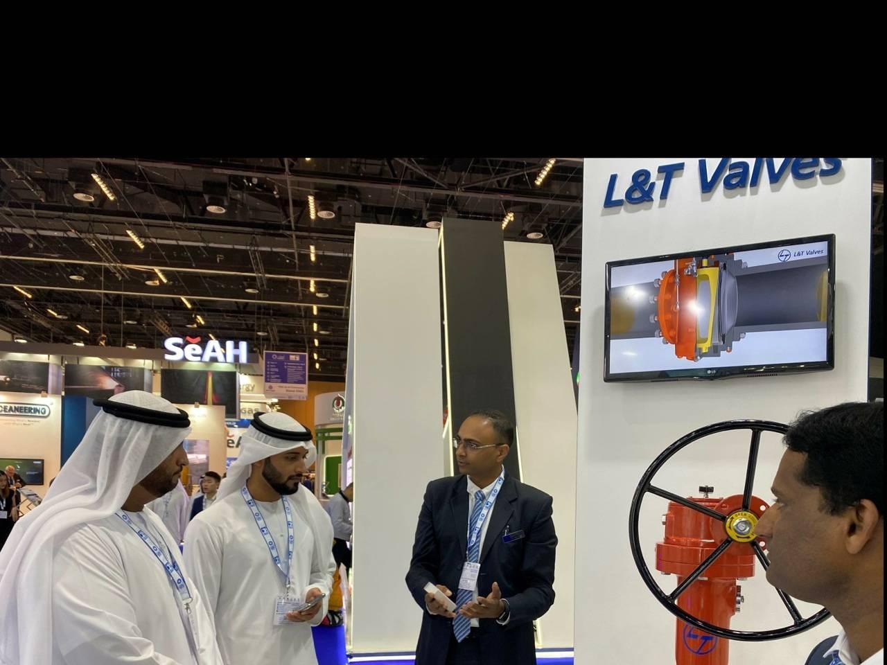 L&T Valves showcases its strength at ADIPEC