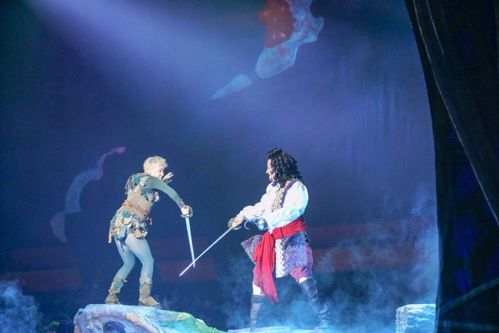 Peter Pan musical delights families during Riyadh Season