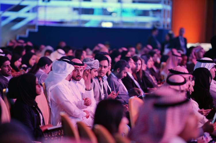 Attendees on the second day of the 4th annual Misk Global Forum in Riyadh on Wednesday. — Courtesy photo