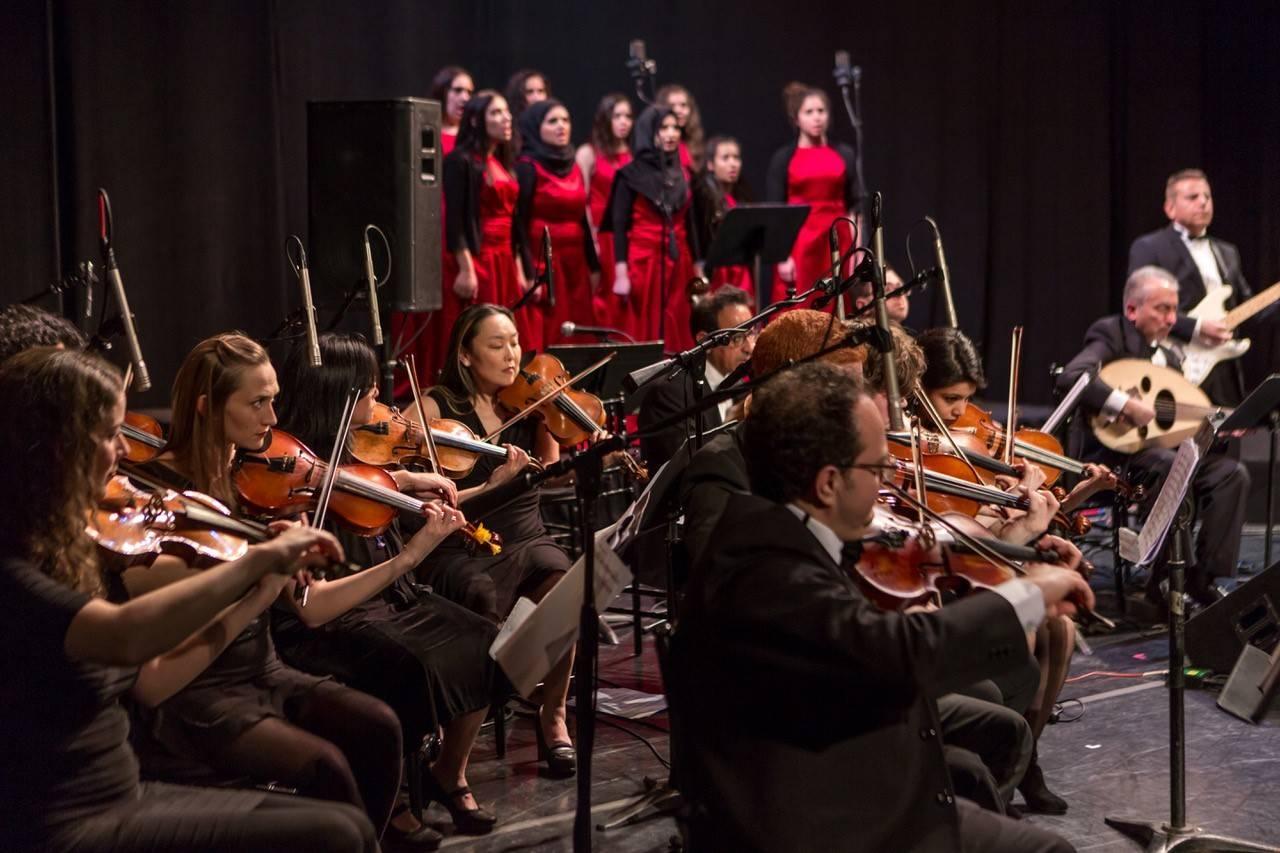 National Arab Orchestra mesmerizes the audience. — Courtesy photo