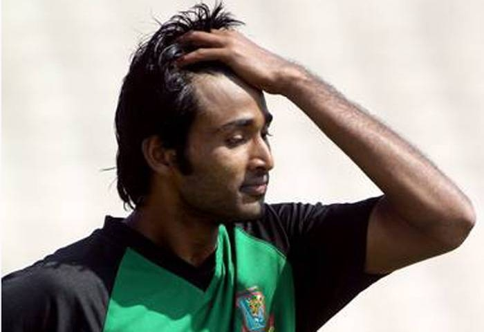 The Bangladesh Cricket Board banned former national team fast bowler Shahadat Hossain for five years, two of them suspended, after he assaulted a teammate in a match, on Tuesday. — Courtesy photo