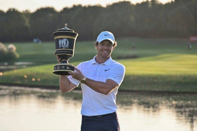 McIlroy won his fourth title of 2019 in Shanghai earlier this month. — AFP
