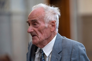 Pierre Le Guennec, Pablo Picasso's former electrician, leaves the courthouse in Lyon, France, in this Sept. 24, 2019 file photo. — AFP