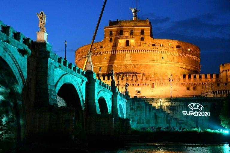 Rome is one of the 12 host cities for next summer's Euro 2020. —AFP