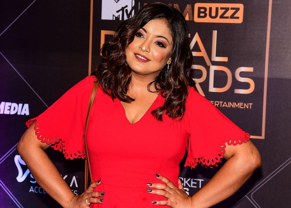 Bollywood actress Tanushree Dutta attends the 'MTV IWM Buzz Digital Awards' ceremony in Mumbai. A year after Bollywood followed Hollywood by naming male predators accused of sexual harassment, many women say they have suffered while alleged perpetrators are back in the limelight. — AFP