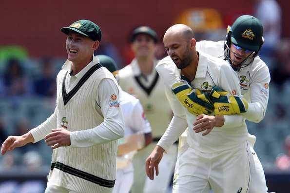 Nathan Lyon returned a five-wicket haul to pick up 50 wickets at the Adelaide Oval, on Monday. — AFP